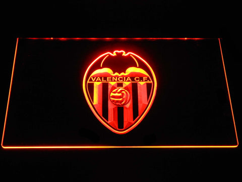 Image of Valencia CF LED Neon Sign - Orange - SafeSpecial