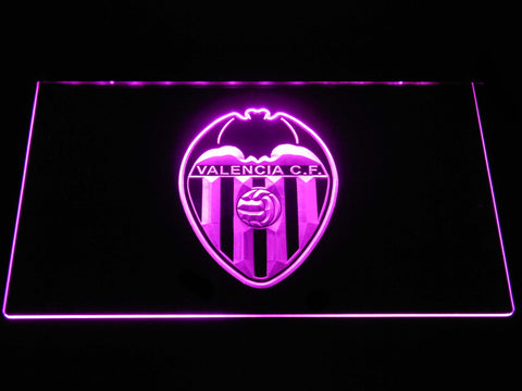 Image of Valencia CF LED Neon Sign - Purple - SafeSpecial
