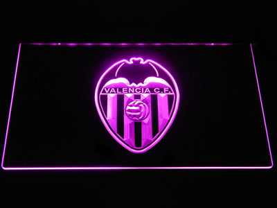 Valencia CF LED Neon Sign - Purple - SafeSpecial