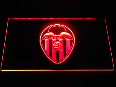 Valencia CF LED Neon Sign - Red - SafeSpecial
