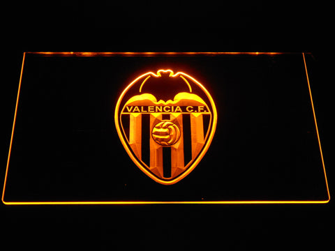 Image of Valencia CF LED Neon Sign - Yellow - SafeSpecial
