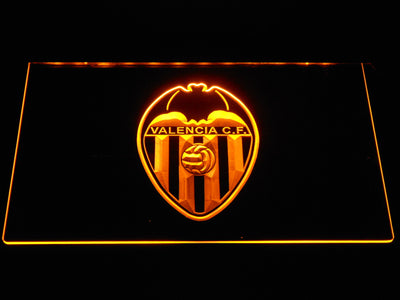 Valencia CF LED Neon Sign - Yellow - SafeSpecial