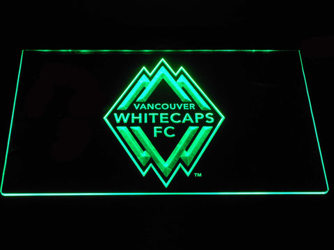 Vancouver Whitecaps FC LED Neon Sign - Green - SafeSpecial