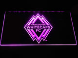 Vancouver Whitecaps FC LED Neon Sign - Purple - SafeSpecial