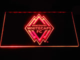 Vancouver Whitecaps FC LED Neon Sign - Red - SafeSpecial