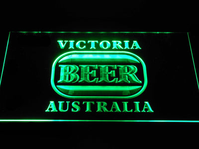Victoria Bitter Australia LED Neon Sign - Green - SafeSpecial