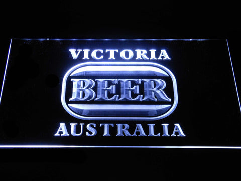 Image of Victoria Bitter Australia LED Neon Sign - White - SafeSpecial