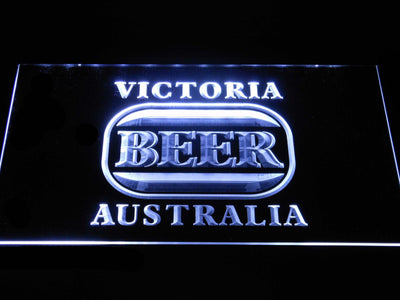 Victoria Bitter Australia LED Neon Sign - White - SafeSpecial