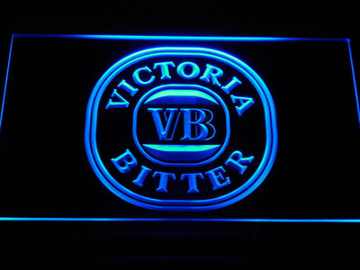 Victoria Bitter LED Neon Sign - Blue - SafeSpecial