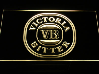 Victoria Bitter LED Neon Sign - Yellow - SafeSpecial