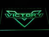 Victory Motorcycles LED Neon Sign - Green - SafeSpecial