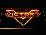 Victory Motorcycles LED Neon Sign - Yellow - SafeSpecial