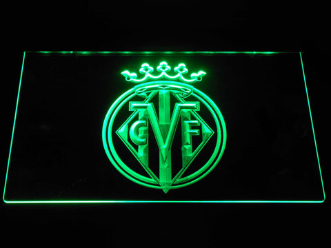 Image of Villarreal CF LED Neon Sign - Green - SafeSpecial