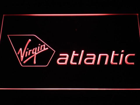Image of Virgin Atlantic LED Neon Sign - Red - SafeSpecial