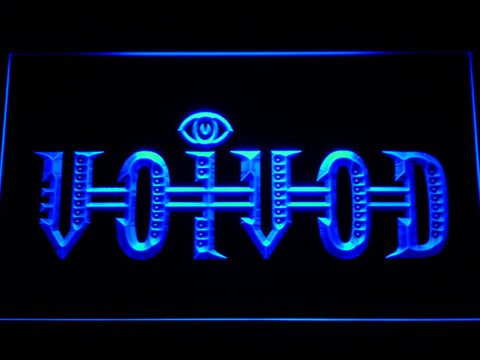 Image of Voivod LED Neon Sign - Blue - SafeSpecial