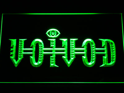 Voivod LED Neon Sign - Green - SafeSpecial