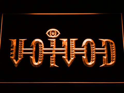 Voivod LED Neon Sign - Orange - SafeSpecial