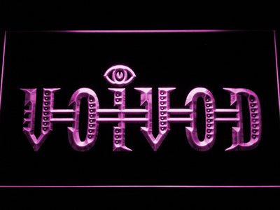 Voivod LED Neon Sign - Purple - SafeSpecial