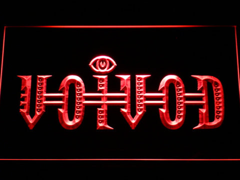 Voivod LED Neon Sign - Red - SafeSpecial