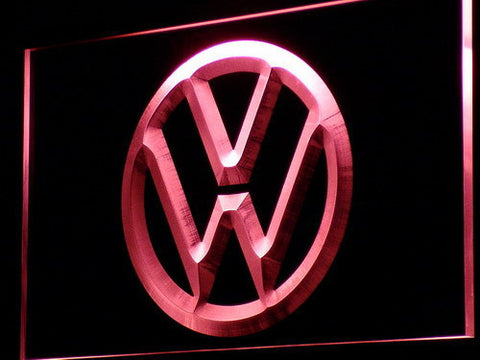 Image of Volkswagen LED Neon Sign - Red - SafeSpecial