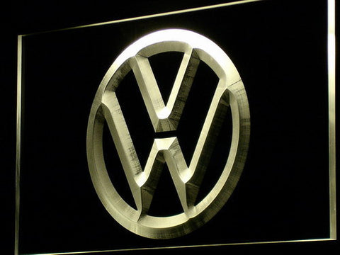 Image of Volkswagen LED Neon Sign - Yellow - SafeSpecial
