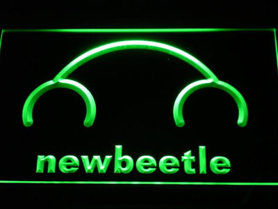 Volkswagen New Beetle LED Neon Sign - Green - SafeSpecial