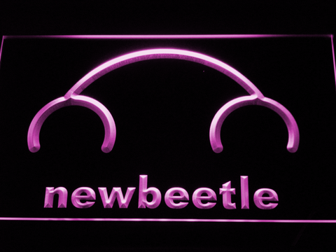 Image of Volkswagen New Beetle LED Neon Sign - Purple - SafeSpecial
