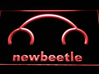 Volkswagen New Beetle LED Neon Sign - Red - SafeSpecial