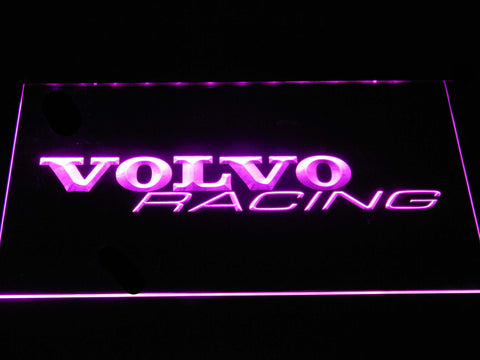 Volvo Racing LED Neon Sign - Purple - SafeSpecial