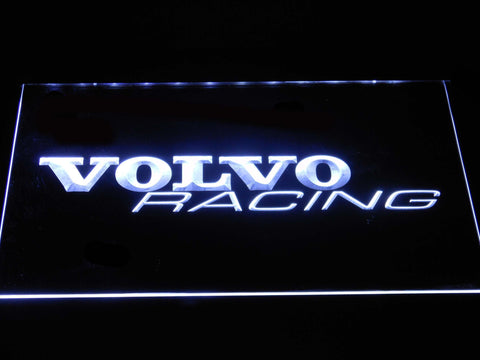 Volvo Racing LED Neon Sign - White - SafeSpecial