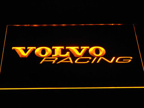Volvo Racing LED Neon Sign - Yellow - SafeSpecial