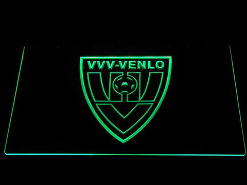 Image of VVV-Venlo LED Neon Sign - Green - SafeSpecial