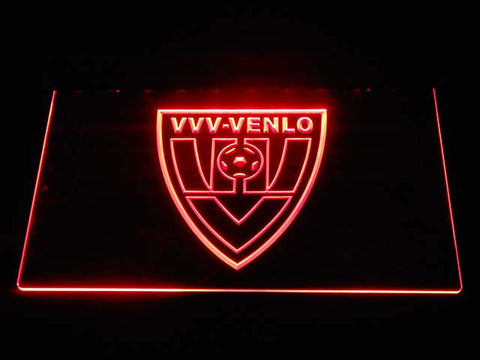 Image of VVV-Venlo LED Neon Sign - Red - SafeSpecial