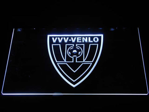 Image of VVV-Venlo LED Neon Sign - White - SafeSpecial