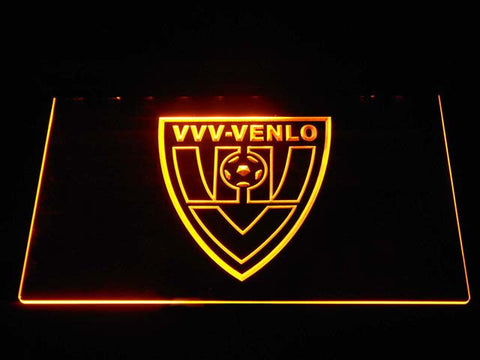 Image of VVV-Venlo LED Neon Sign - Yellow - SafeSpecial