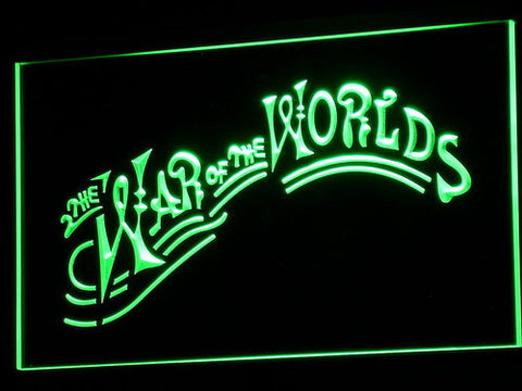 Image of War of the Worlds LED Neon Sign - Green - SafeSpecial