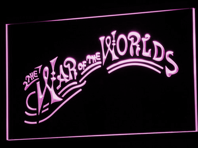 War of the Worlds LED Neon Sign - Purple - SafeSpecial