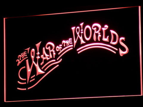 Image of War of the Worlds LED Neon Sign - Red - SafeSpecial