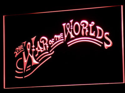 War of the Worlds LED Neon Sign - Red - SafeSpecial