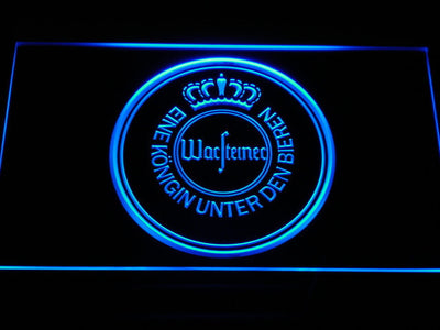 Warsteiner LED Neon Sign - Blue - SafeSpecial
