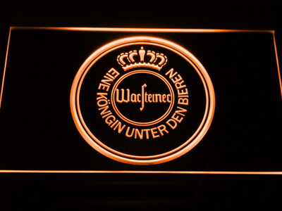 Warsteiner LED Neon Sign - Orange - SafeSpecial