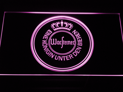 Warsteiner LED Neon Sign - Purple - SafeSpecial