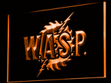 W.A.S.P. LED Neon Sign - Orange - SafeSpecial