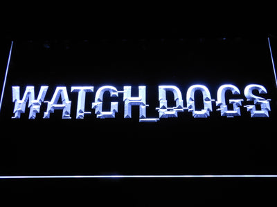 Watch Dogs LED Neon Sign - White - SafeSpecial