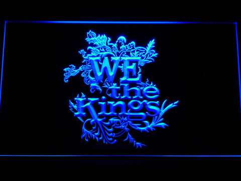 We The Kings LED Neon Sign - Blue - SafeSpecial