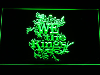 We The Kings LED Neon Sign - Green - SafeSpecial