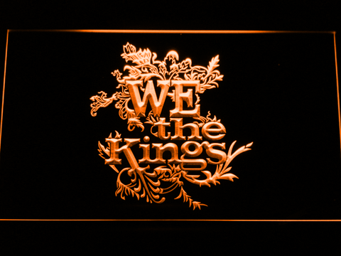 We The Kings LED Neon Sign - Orange - SafeSpecial