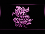 We The Kings LED Neon Sign - Purple - SafeSpecial