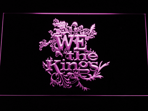 Image of We The Kings LED Neon Sign - Purple - SafeSpecial