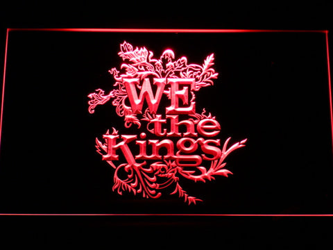 We The Kings LED Neon Sign - Red - SafeSpecial